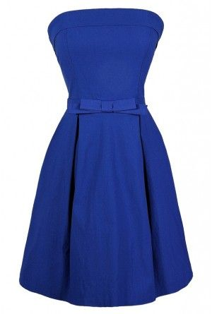 Blue Bow Dress #zulilybday