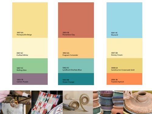 24 best Southwest color scheme images on Pinterest Color schemes - home decor color palettes