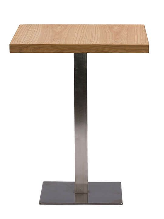 Wood Cafe Table | Modern Furniture • Brickell Collection