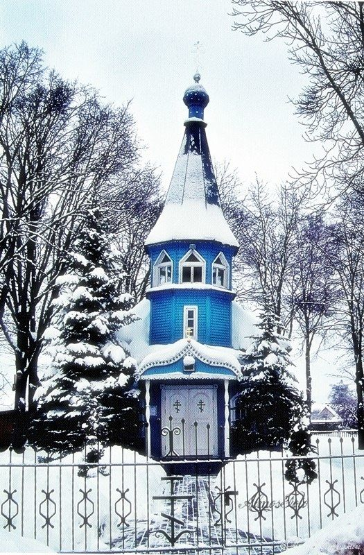 ~Church of Winter~ in LITHUANIA