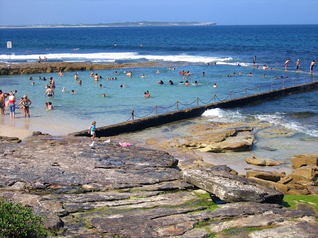 Cronulla Rock Pool.  And then there is the South Cronulla ocean walk...