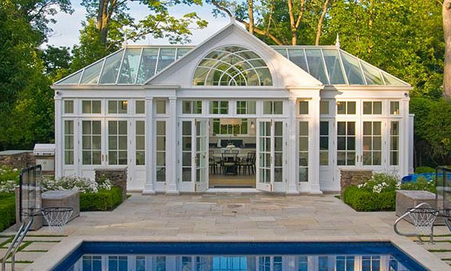 Conservatory furniture in a conservatory