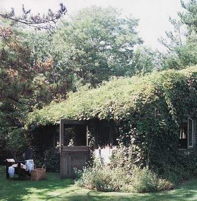 Ralph Lauren's guest house (Elle Decor 2008)