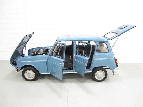 Renault 4 Mijn eerste auto.