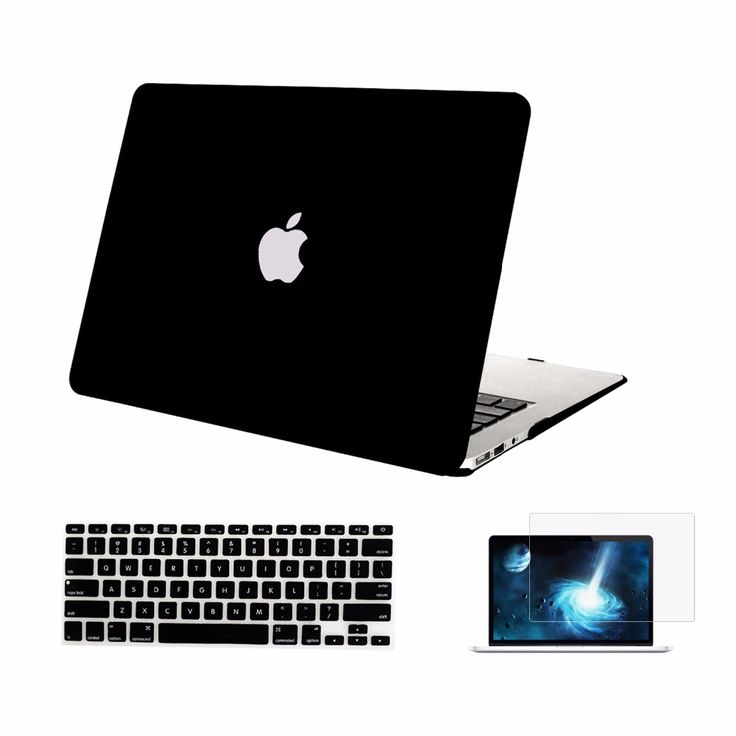 Mosiso for Macbook Air 13 13.3 inch Protective Shell Cover Case A1369 A1466  Silicone Keyboard cover  Screen Protector