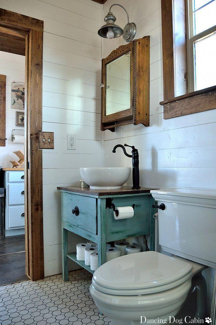 Cabin Reveal Tiny Cabin Bathroom Cabin Bathrooms Small Cabin