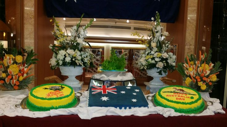 Australia Day on the Princess cruise 2016