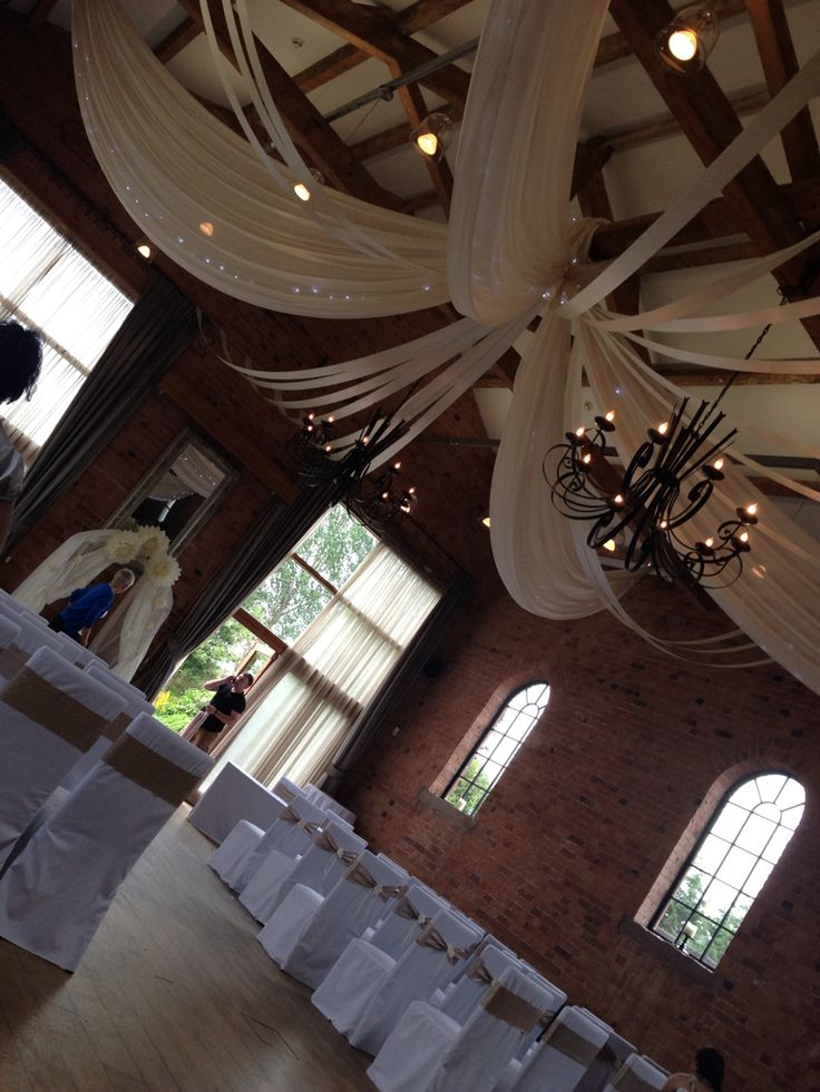 Swags and twinkles. Venue - The Carriage Hall Nottingham