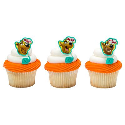 Scooby Doo Cupcake Rings 8 Pk Party Supplies Canada - Open A Party