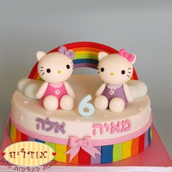 Meisjes verjaardagstaarten | taarten suiker deeg