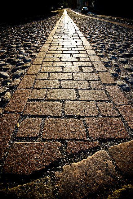 turku... Pebbled stone walk | Flickr: Intercambio de fotos