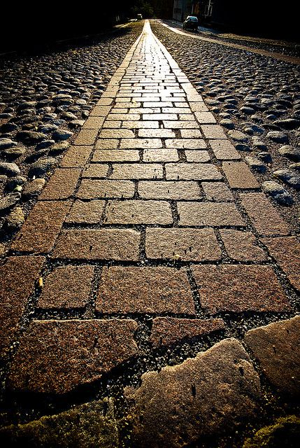 turku... Pebbled stone walk | Flickr: Intercambio de fotos