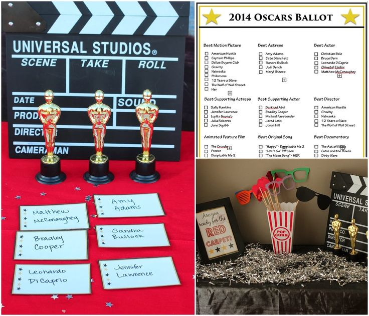 Free printable Oscar games and voting ballot from playpartypin.com #party #Oscars #freeprintables