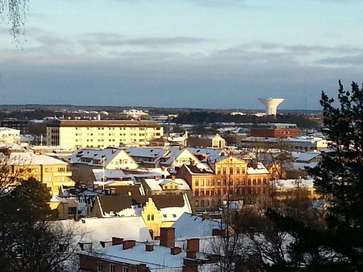 Står uppe vid Uppsalaslott