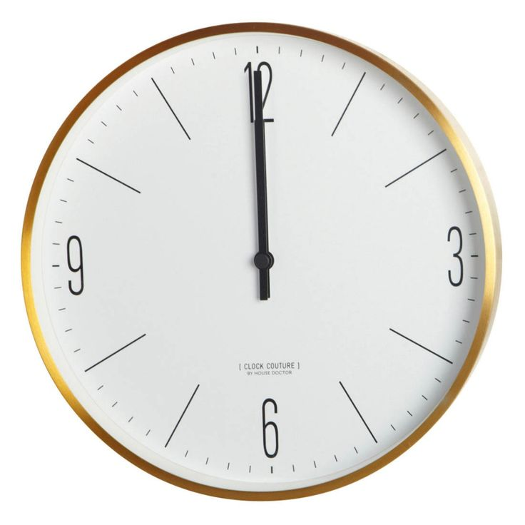Zegar ścienny COUTURE
