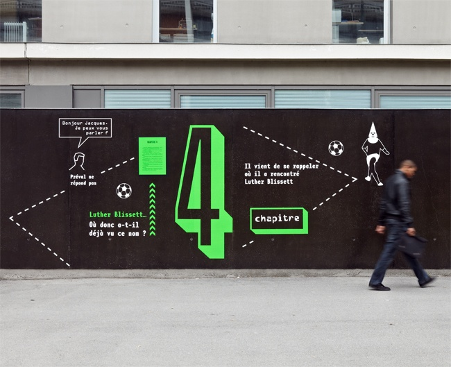 #signage #wall #signalétique #espace #typography Stefania & Geoffroy