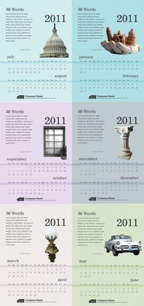 exquisite 2011 calendar template charts Pinterest Templates