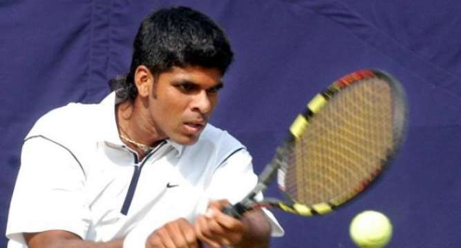 India were on Monday  knocked out of medal contention in both the men's and women's tennis team events after losing their respective quarterfinal clashes to Kazakhstan in the 17th Asian Games here.