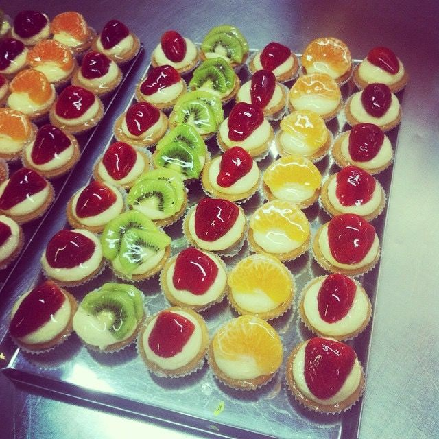 Mini tarts but huge pleasure.