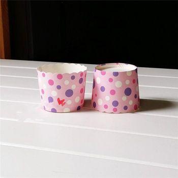 100 шт./лот цвета торт бумага для выпечки чашки лайнеры кекс кекс чашки плесень домой ну вечеринку кухонный инвентарь