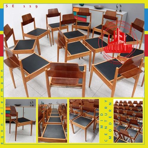 Special 1 12 Mid Century Modern Chair Chaise E Eiermann Stuhl SE 119 Panton ÈRE | eBay
