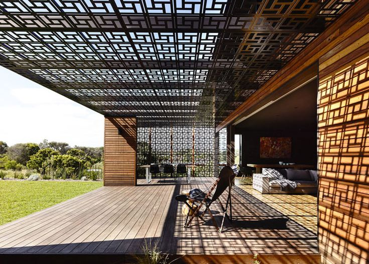 The Blairgowrie House by Wolveridge Architects is located on the southern tip of Port Philip Bay, Australia. Wrapped in horizontal timber boards, the seaside home features a pair of...