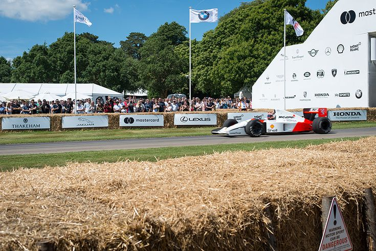 Ayrton Ayrton Senna's McLaren Formula 1 car at Goodwood Festival of Speed