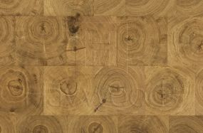 HW2606 Henley Oak End Grain Nature Grade 180mm Engineered Wood Flooring