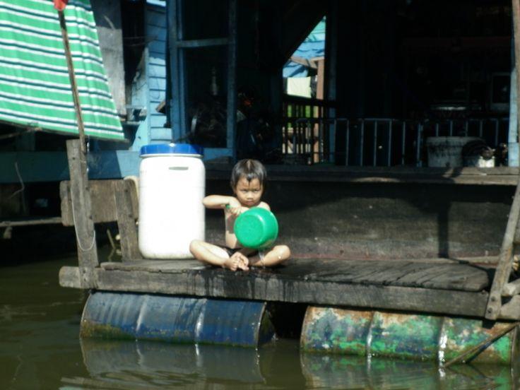 Floating Village outside Pursat, Cambodia