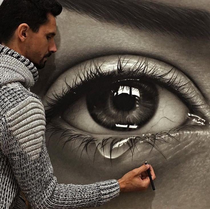 Artist Fabiano Millani Contemporary Brazilian Artist Art Beauty Eye Art Hyperrealistic Art Eye Drawing Tutorials