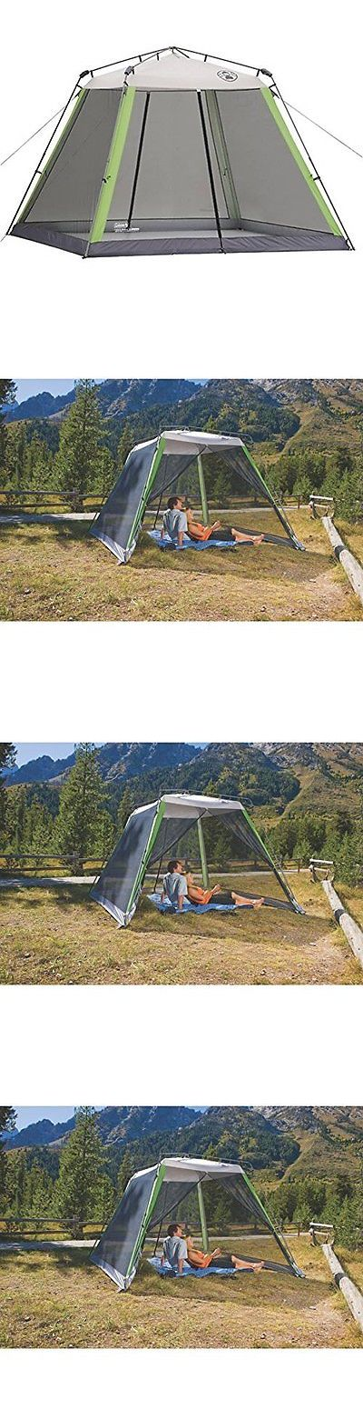 Canopies and Shelters 179011: Coleman Instant Pop Up Tent Portable Sun Screen House Large Door Beach Camping -> BUY IT NOW ONLY: $129.86 on eBay!