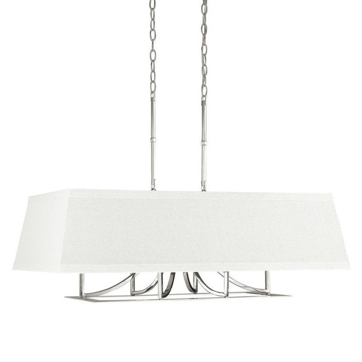 Capital Lighting 4656-603 The Parker Collection 6 Light 1 Tier Drum Chandelier