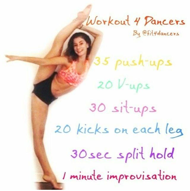 Dancer workout