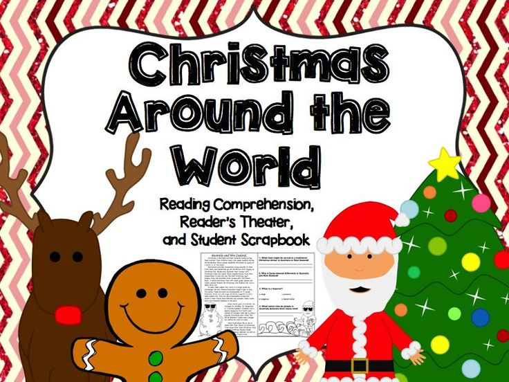 Christmas Around The World Craft Ideas Part - 40: Christmas Around The World (Reading Comprehension, Scrapbook,u0026 Readeru0027s ...