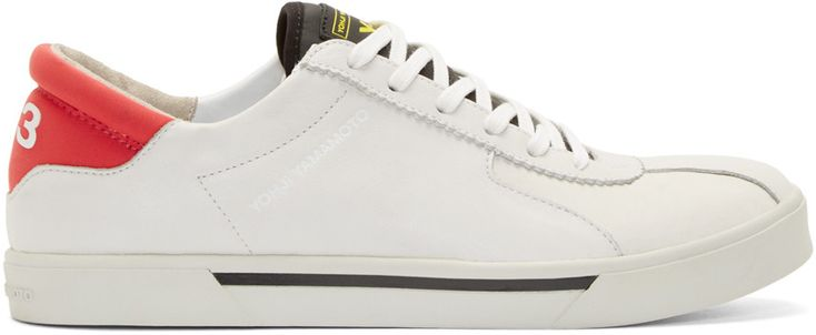 Y-3 White Rydge adidas Edition Sneakers