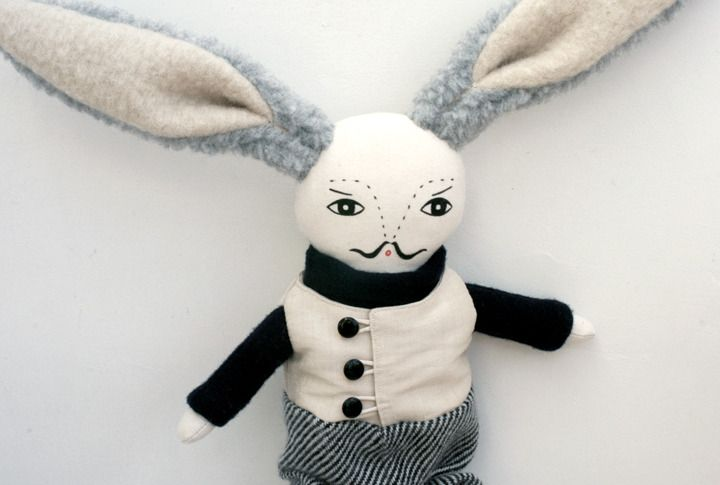 Bunny with a mo!