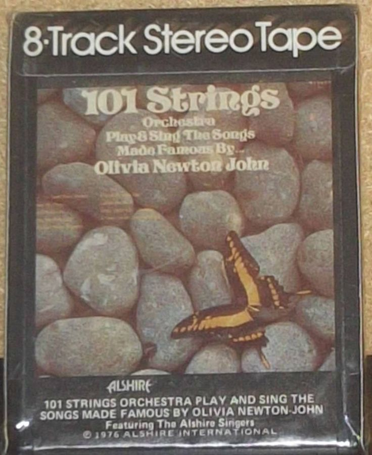 101 Strings Play The Songs Of Olivia Newton John Sealed Easy Listening 8 Track Tape by RASVINYL on Etsy