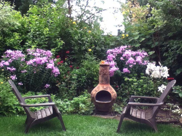 Summer phlox and oriental lilies