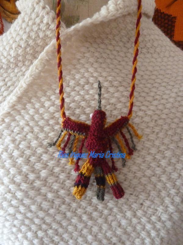 Joya textil en Anillado simple y Cruzado de Paracas-Peru