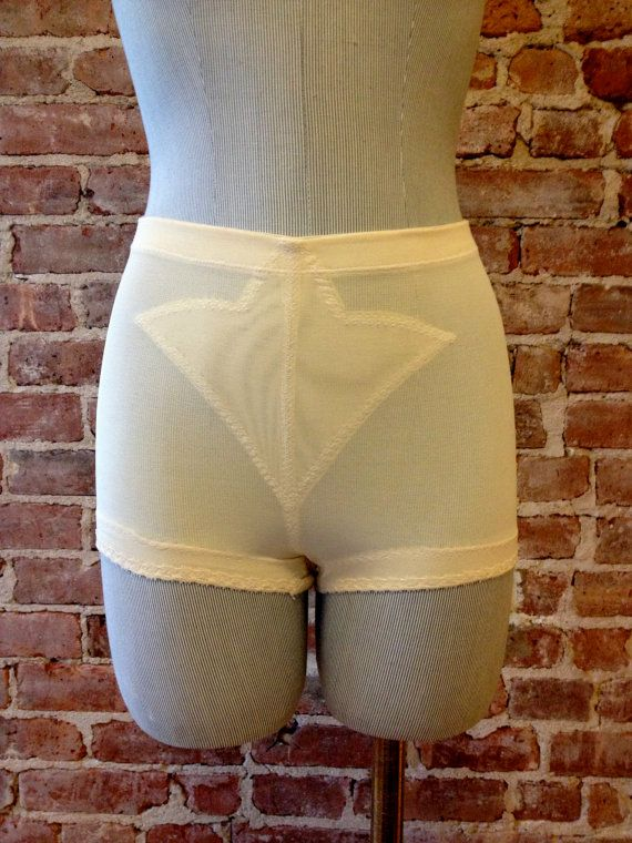Size 26  Vintage Girdle Panties  Medium Support  by 58petticoats, $29.00