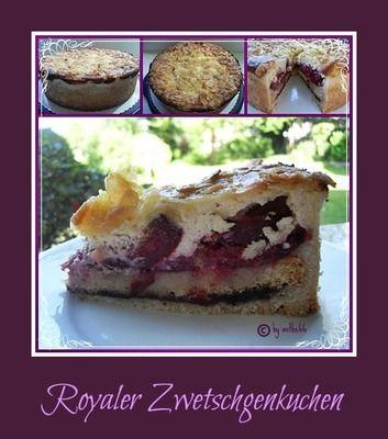 Bild von 'Royaler Zwetschgenkuchen'