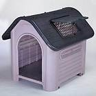 Guardian Gear Happy Home large to 70 Lb deluxe plastic dog house w sunroof vent.