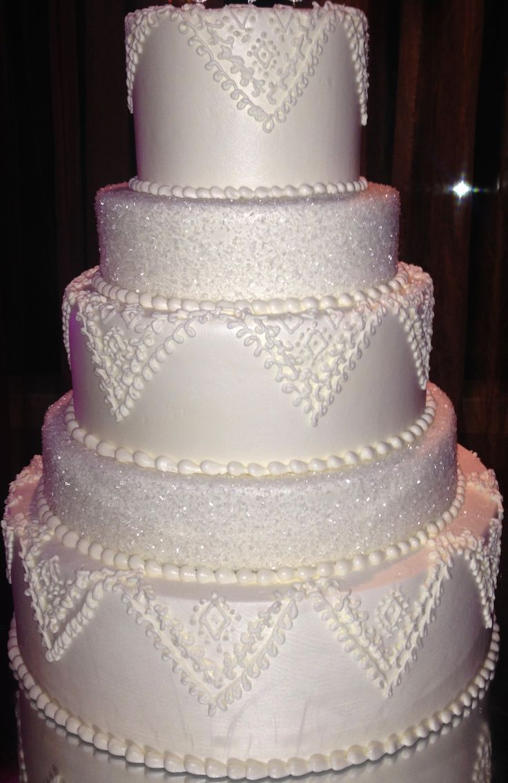 wedding cake with sugar crystals sugar and buttercream wedding cake your 26969
