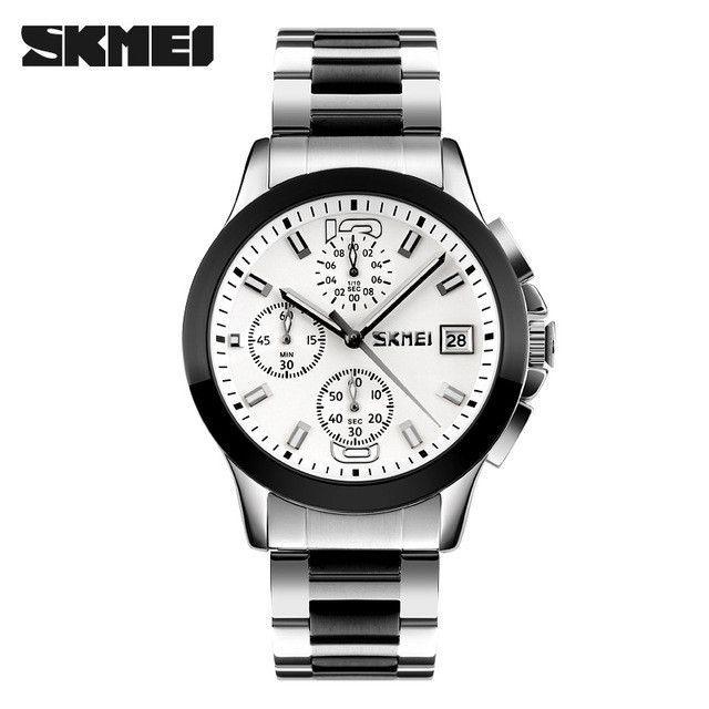 SKMEI Brand Men Dress Watches Top Brand Luxury Multifunction Sports Quartz Watch Waterproof Clock Men Relogio Masculino