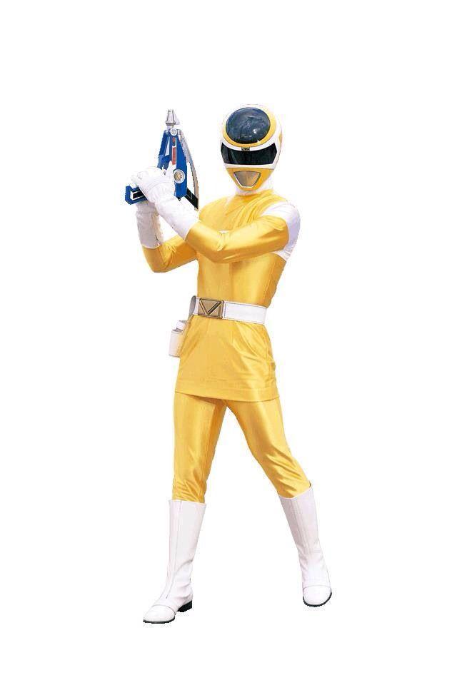 Power Rangers In Space - Yellow Ranger