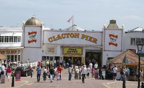 Clacton-on-Sea...the Pier. I used to go here as a kid :)
