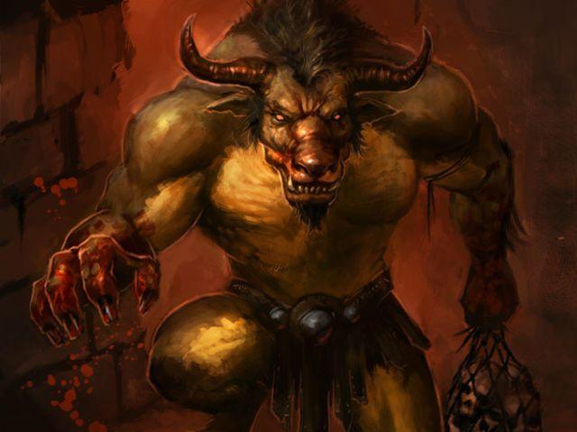 I got: The Minotaur! Which Mythological Greek Villain Are You?