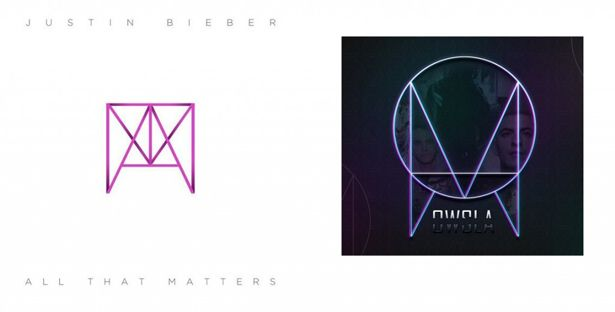 EDM News: Justin Bieber Rips Off SKRILLEX'S OWSLA Records' Logo. --Seriously? You're going to rip off Skrillex's logo?! NOT COOL BRO