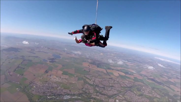 Charity Skydive in aid of Jo's Cervical Cancer Trust 2017