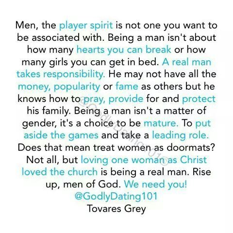 The best: dating a christian man vs man of god